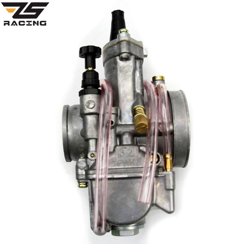 ZS-Racing 28 30 32 34 mm OKO Koso Carburetor Keihin PWK Vergaser Universal For Motorcycle Scooter Motocross With Power Jets