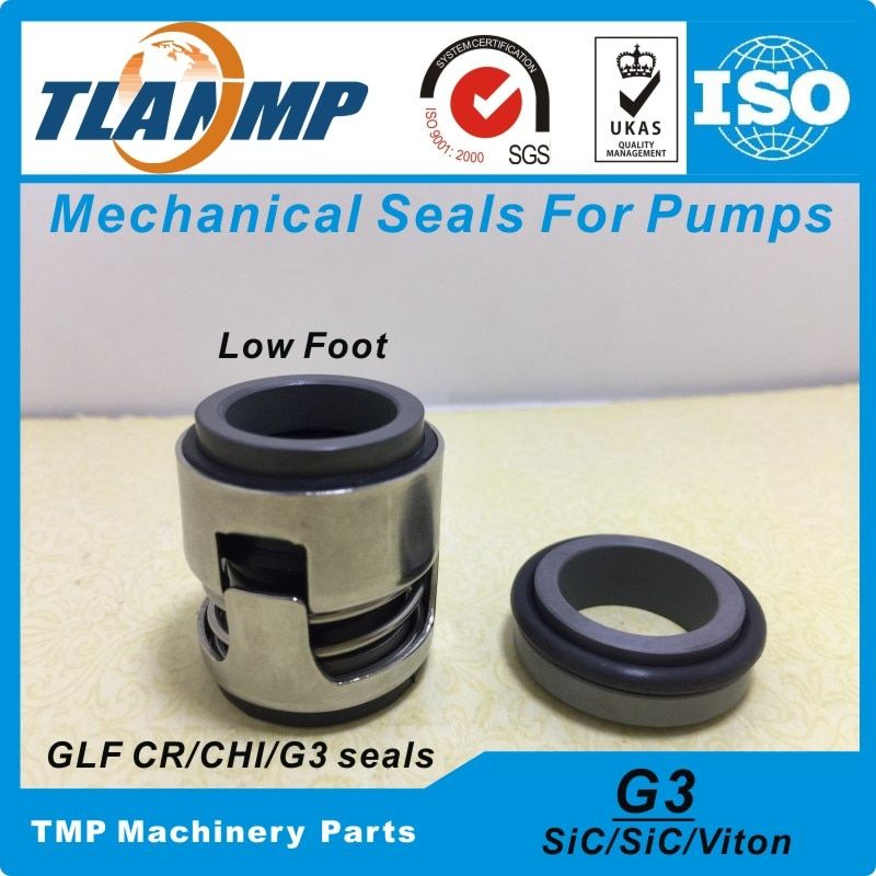CHI-16 , G3-16 , G03-16 (Low Foot) Rubber Bellow Mechanical Seal For For CH,CHI,CHE,TP Pumps (CR-16 Mechanical Seal)
