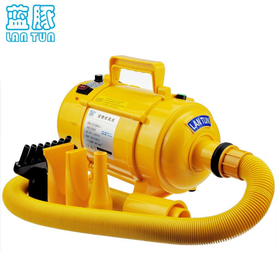 2016 New Dryer For Dogs Dog Hair Dryer Pet Blower Of High Power Ultra Quiet 110v~240v Available Stepless Speed Regulation 2600w