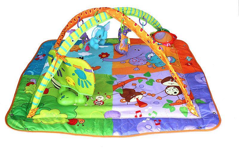 baby musical developing gym mat floor <font><b>rug</b></font> for children