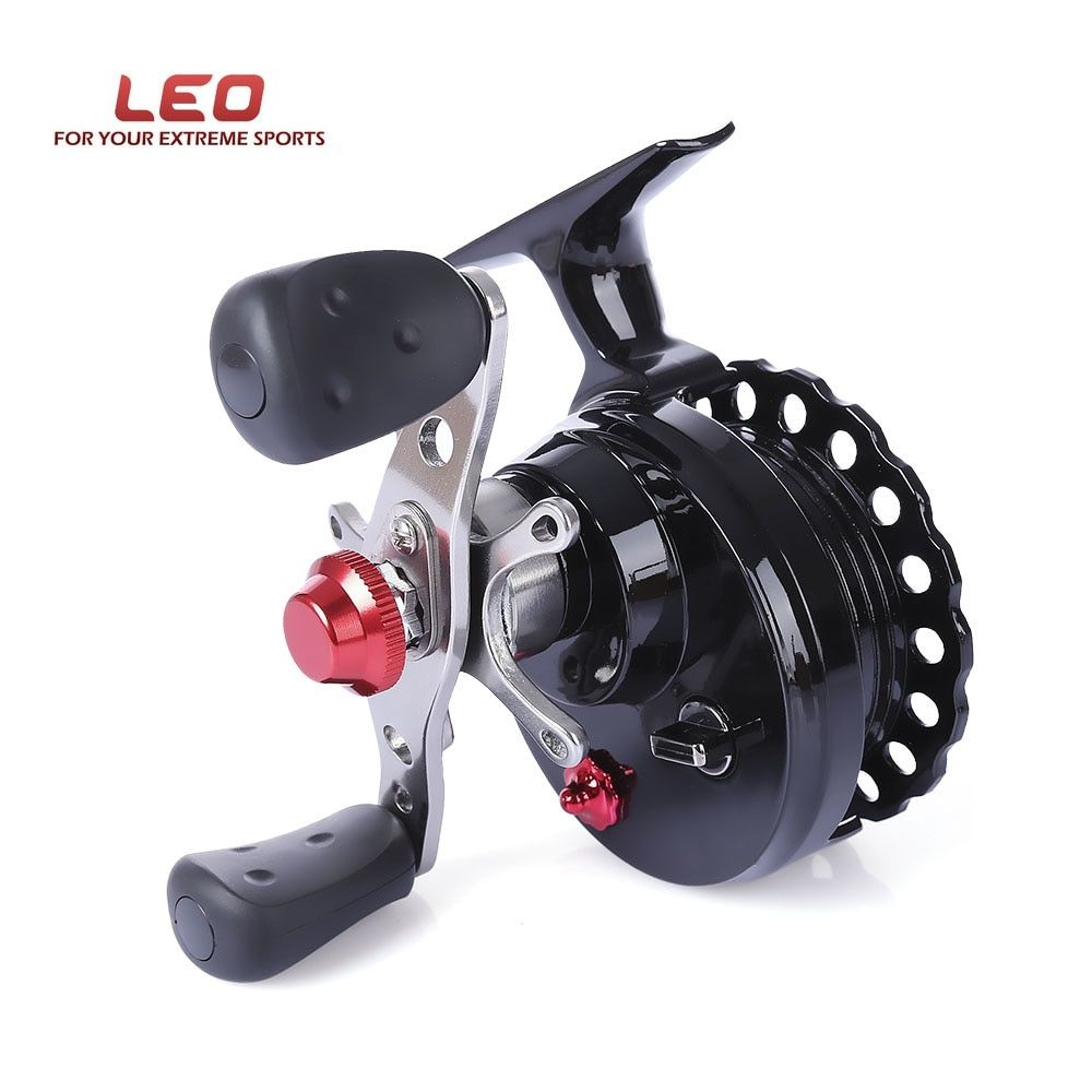 Hot Sale LEO DWS60 4 + 1BB 2.6:1 65MM Fly Fishing Reel Wheel with High Foot Fishing Reels Left/Right Hand Fishing Reel Wheels