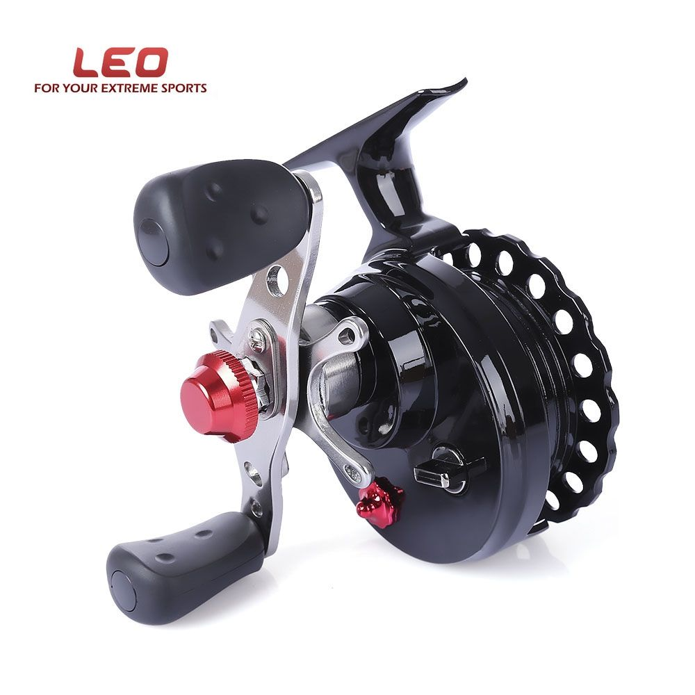 Hot Sale LEO DWS60 4 + 1BB 2.6:1 65MM Fly Fishing Reel Wheel with High Foot Fishing Reels Left/Right Hand Fishing Reel Wheels