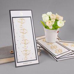 Oro galvanizado/Rosa clips pin clip de metal marcadores de almacenamiento accesorios de oficina lindo arco clips