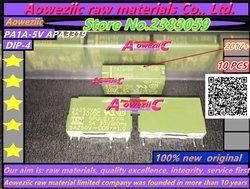 Aoweziic (10PCS) 100% new original PA1A-5V APA3319 PA1A-12V APA3311 PA1A-24V APA3312 power relay Base APA831 PA1a-PS PA1A-PS