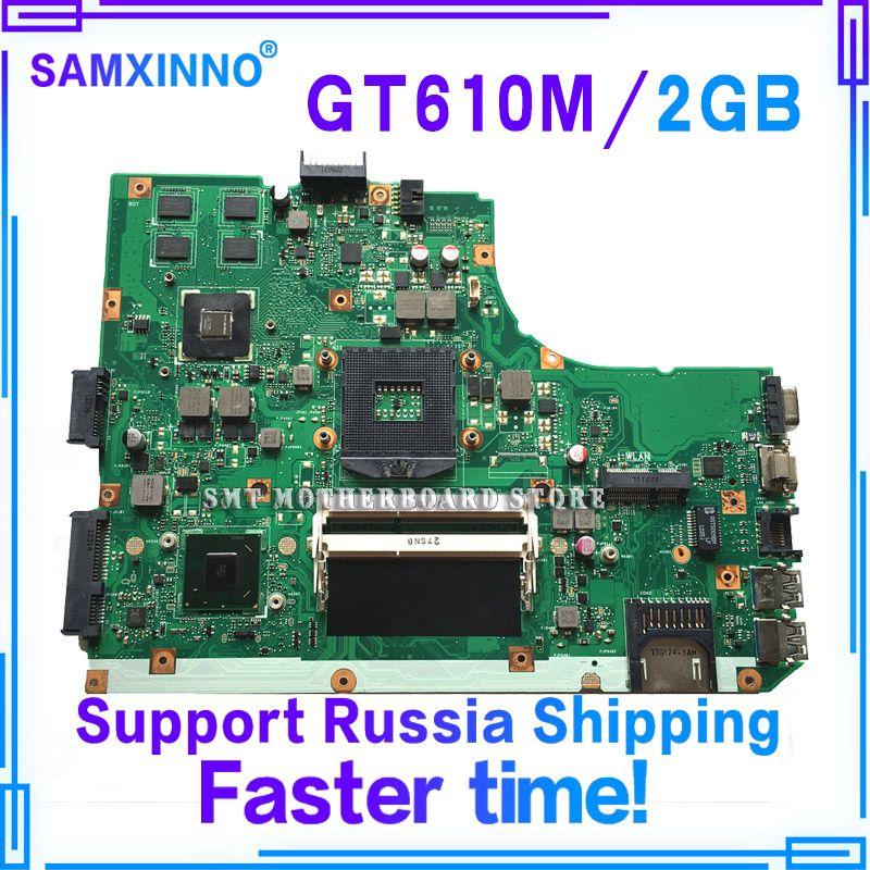 K55VD Motherboard REV3.0/3.1 GT610M 2GB For ASUS R500A K55V laptop Motherboard K55VD Mainboard K55VD Motherboard test 100% ok
