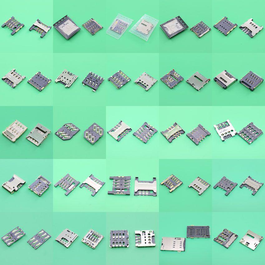 Carte sim lecteur connecteur titulaire contact module pour Samsung P5200 S5230 pour Lenovo A520 S850E Pour SonyST26 ST26i Pour LGG3 D85