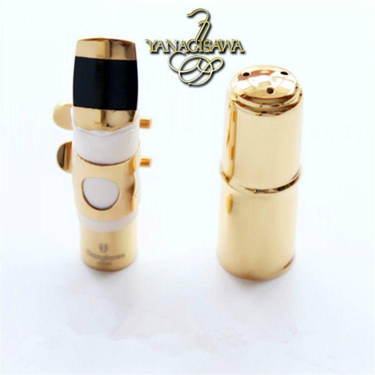 High Quality Yanagisawa saxophone Metal Mouthpiece Alto Soprano Tenor New Metal Mouthpiece NO 5-9 Brass Free shipping