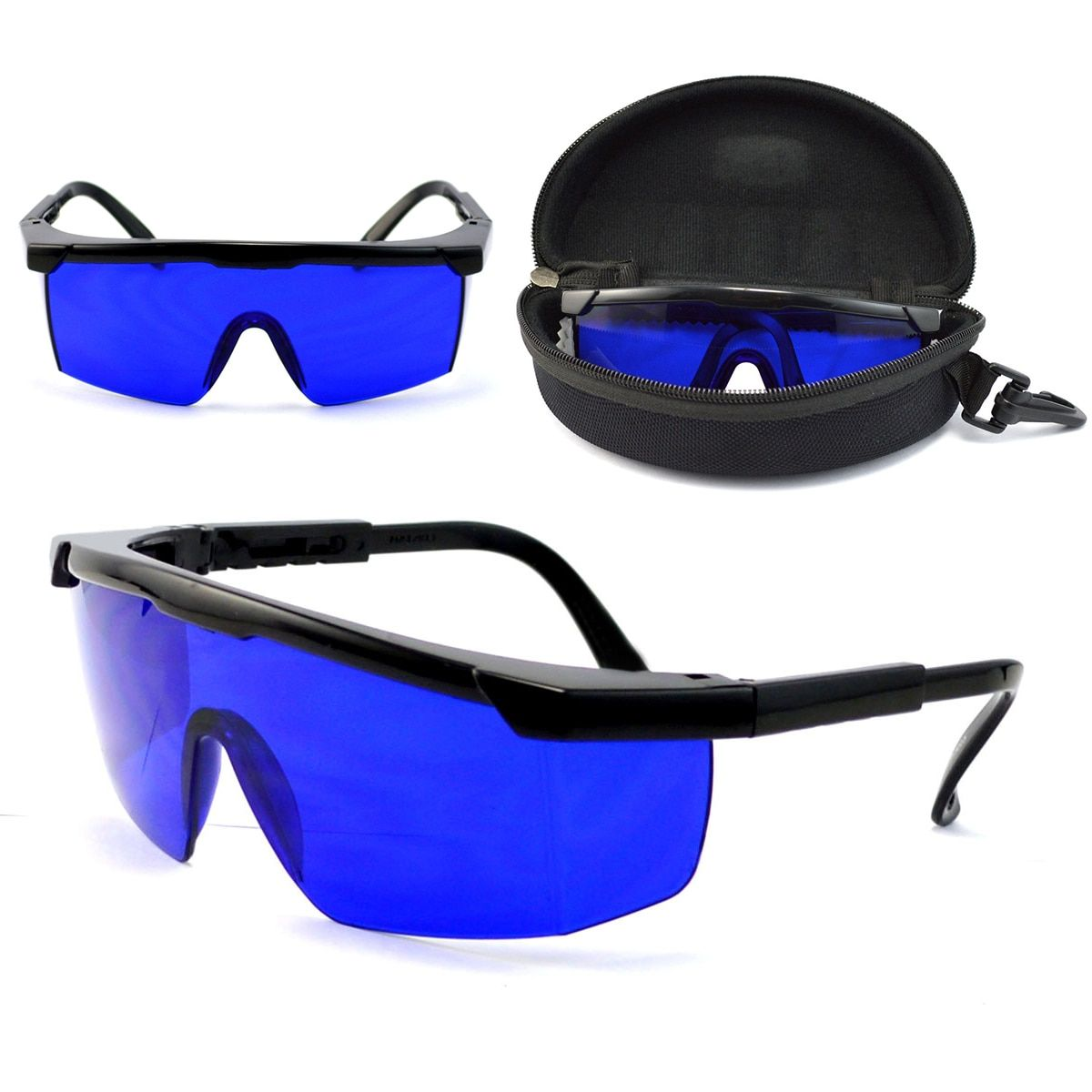 Mayitr Professional <font><b>Golf</b></font> Ball Finder Glasses Eye Protection <font><b>Golf</b></font> Accessories Blue Lenses Sport Glasses With Box