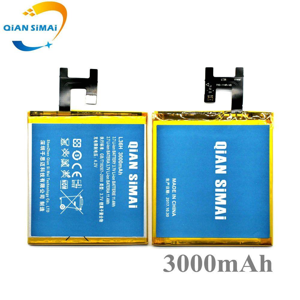QiAN SiMAi LIS1502ERPC 3000mAh Battery For SONY Xperia Z L36H lt36h L36i S39H SO-02E C6603 C6602 C6600 C660X Xperia C CN3