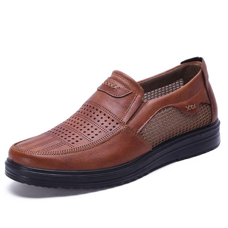 Été nouvelle marque respirant hommes baskets chaussures hommes adultes de haute qualité confortable antidérapant doux maille hommes chaussures