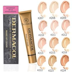 Freckle Removing Concealer Makeup For Face Foundation Cover Freckles Acne Marks Waterproof Cosmetic Palette Contouring