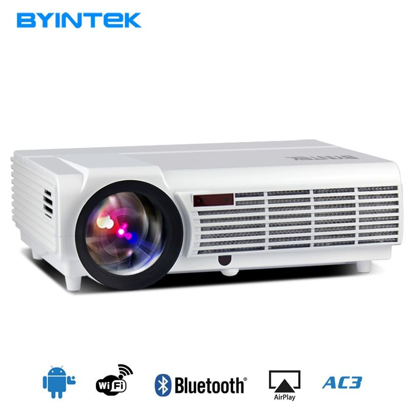 2018 Cheap Projector MOON BT96Plus Android wifi smart game bluetooth Video HDMI USB Full HD 1080P Home Theater LED Projector