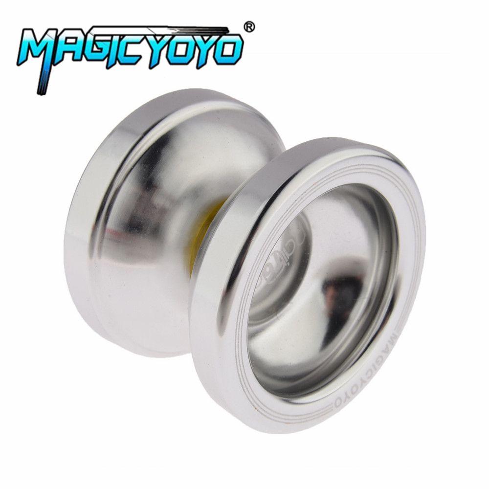 MAGICYOYO Aluminum Design Professional Magic YoYo T6 Ball Bearing String Trick Alloy Kids Children Toy Gift