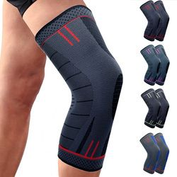 CAMEWIN 1 Piece Knee Protector Knee Pads,Knee Support for Running,Arthritis,Sports,Joint Pain Relief and Injury Recovery