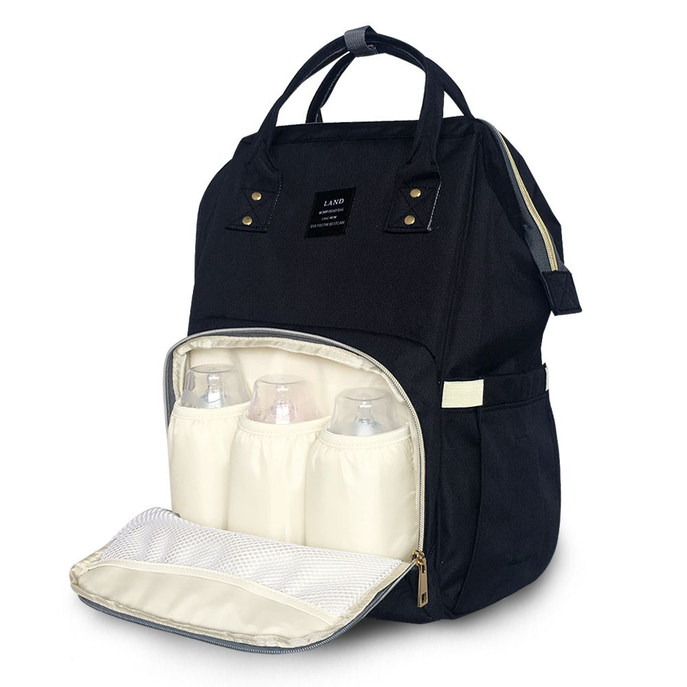 LAND New Baby Diaper Bag Fashion Mummy Maternity Nappy Bag Large Capacity Baby Bag <font><b>Travel</b></font> Backpack Designer Nursing Bag/