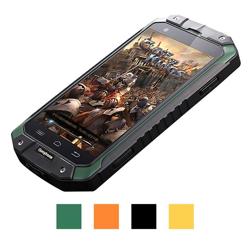Guophone V9 smartphone 4,0 zoll 1 GB 8 GB IP68 wasserdicht stoßfest handy MTK6580 Quad Core GPS 3G 8MP Android smartphone