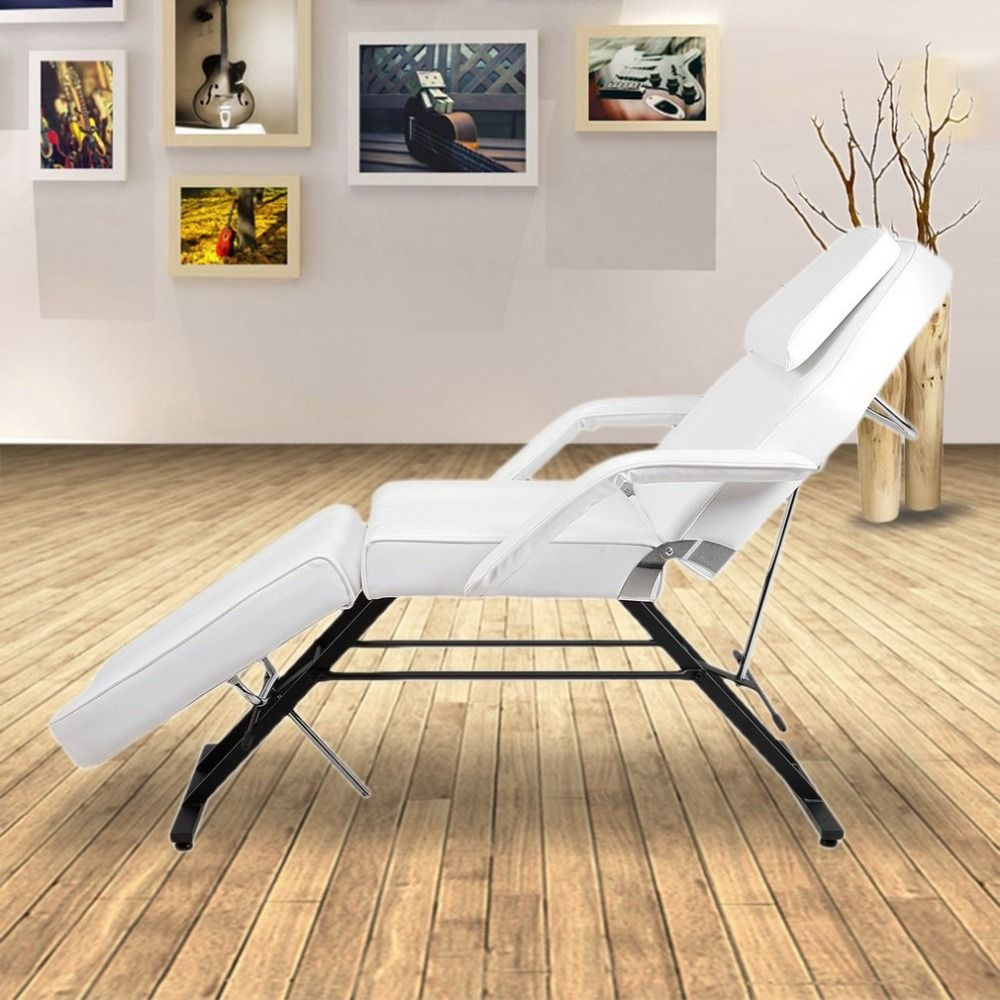Adjustable Massage Bed Facial Beauty Barber Chair Professional Soft Padded Couch Bed Stool For Tattoo Facial Therapy Salon NEW
