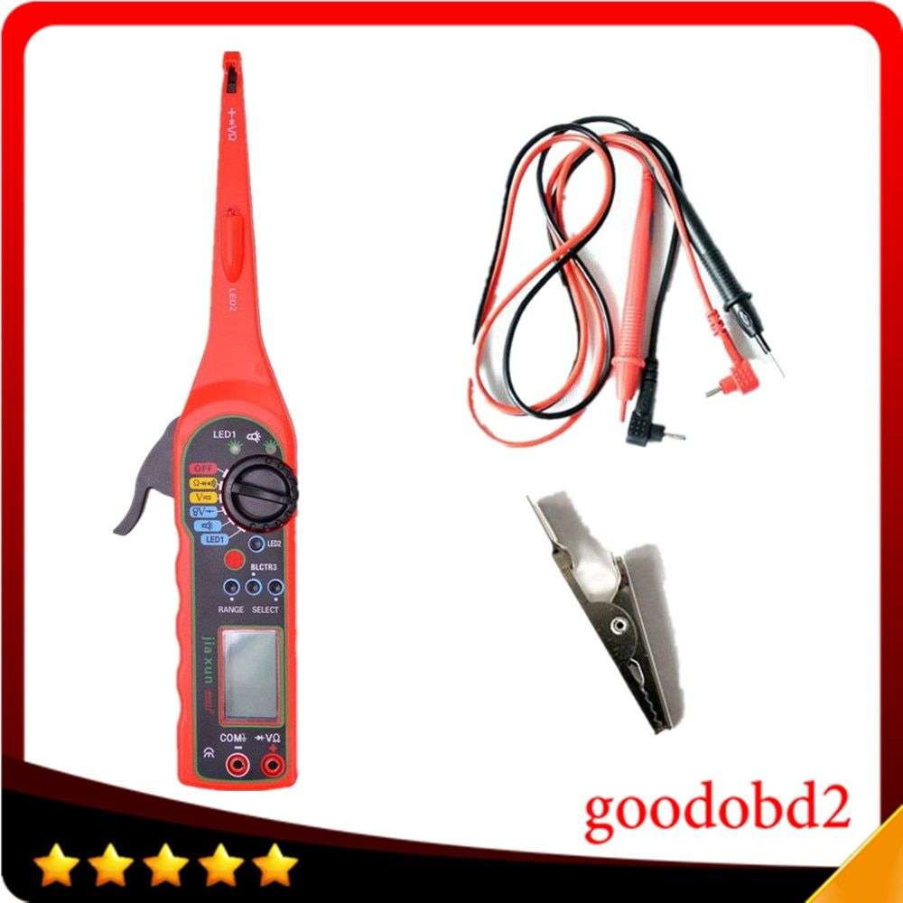 2016 Multi-function Auto Circuit Tester Multimeter Lamp Car Repair Automotive Electrical Multimeter 0V-380V  car voltage tester