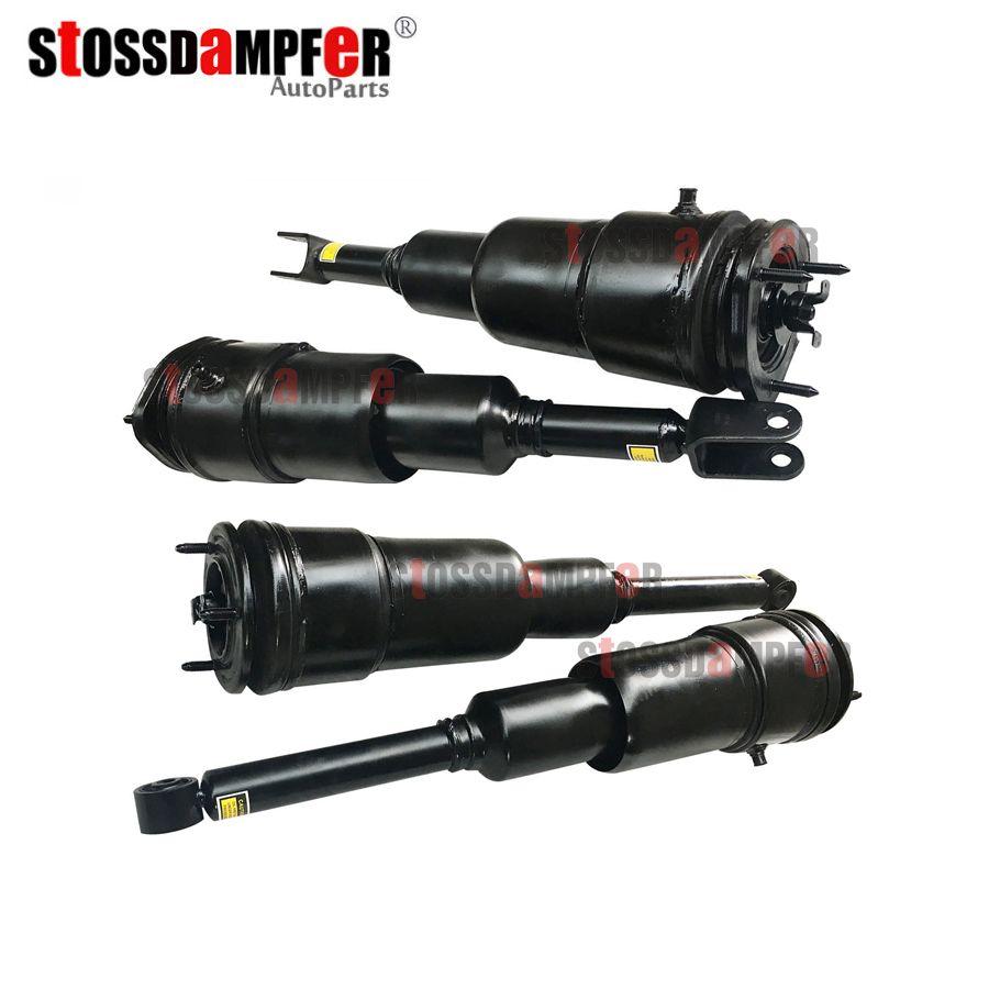 StOSSDaMPFeR 4PCS Rear Air Spring Front Air Ride Suspension Air Strut Fit Lexus LS460 4801050150 4801050240 4809050232