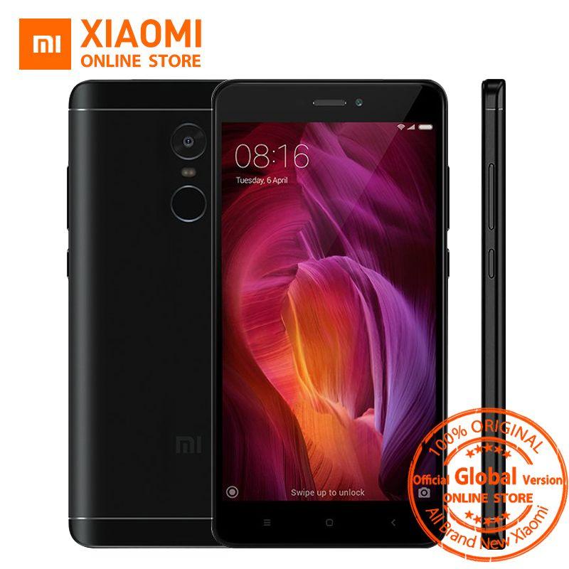 Global Version Xiaomi Redmi Note 4 Smartphone 3GB 32GB Snapdragon 625 Octa Core 5.5
