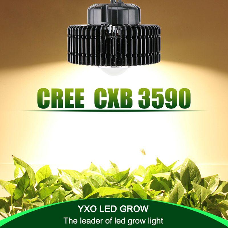 100W CREE CXB3590 COB volles spektrum led wachsen licht für gewächshaus hydrokultur Innen wachsen zelt kommerziellen medizinische pflanzen wachstum