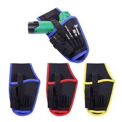 Alat Listrik Tas Portable Cordless Drill Sarung Pinggang Kantong Cordless Obeng Tas Tukang Listrik Perbaikan Profesional Toolkit