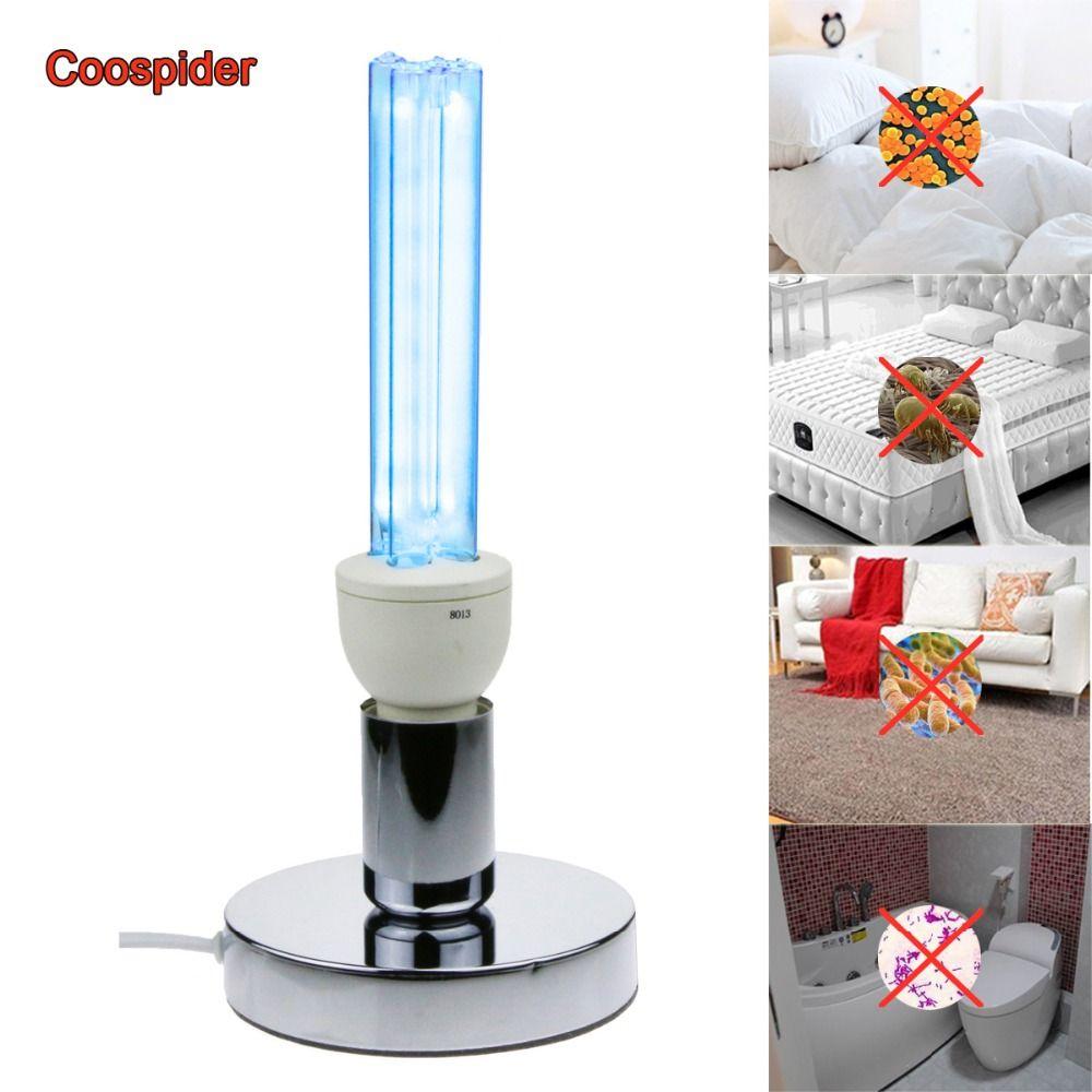 Quartz UVC stérilisation germicide CFL lampe à l'ozone ampoule lumière ultraviolette E27 base pour désinfecter les bactéries tuer les acariens désodorisant
