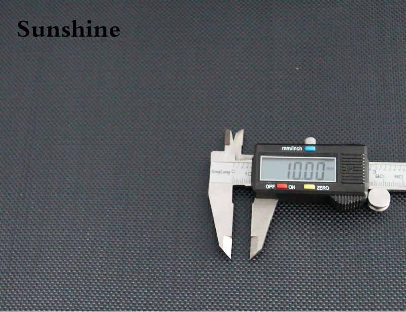 240g Schwarz Aramidfasergewebe Leinwandbindung Tuch hochfeste