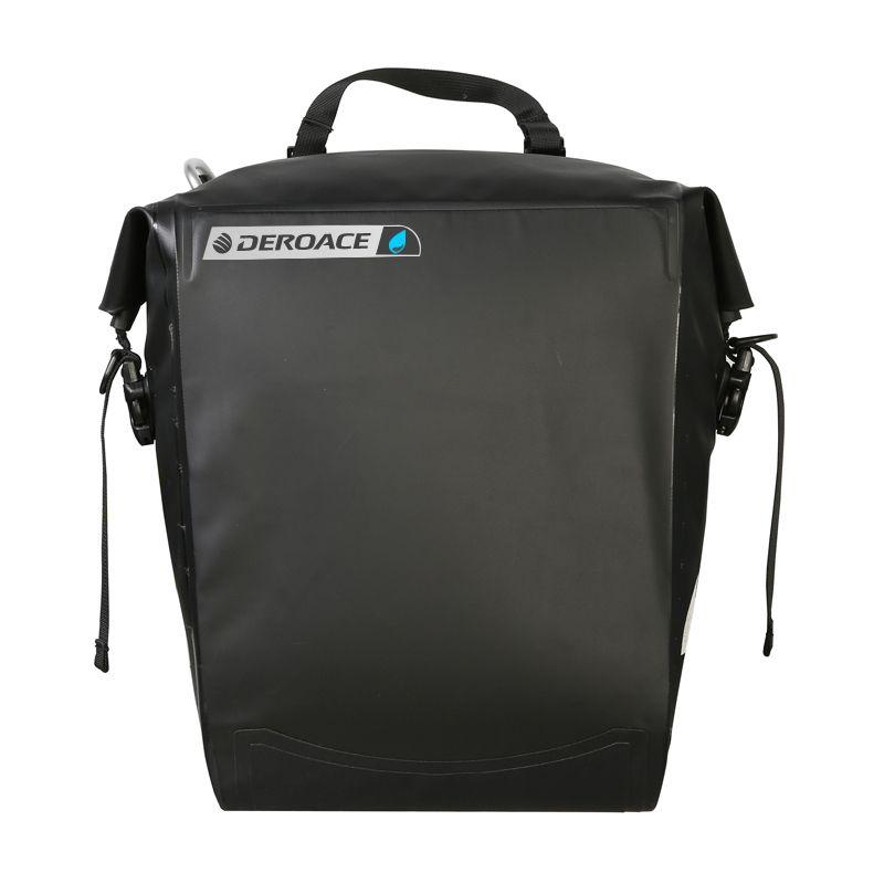 DEROACE Waterproof Bike Bicycle Bag 20L Handlebar Bag Bicycle Backseat Pocket Shoulder Pack Riding Cycling Bike Accessories