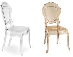 wholesale quality plastic princess dining chair wedding plastic castle  chair