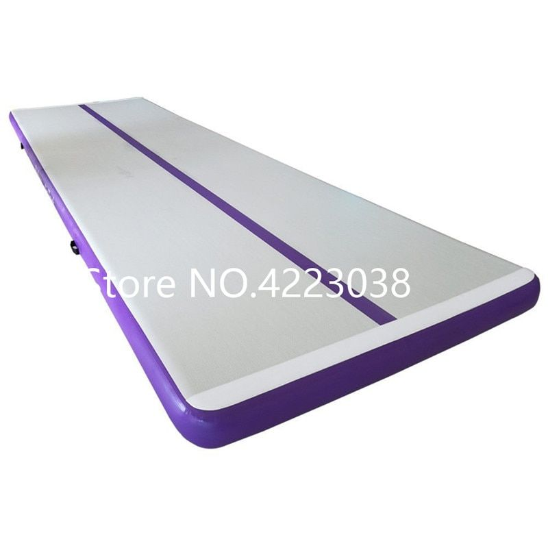 Air track tumbling mat inflatable gymnastics airtrack with Pump for Practice Gymnastics,Cheerleading, Tumbling,Parkour