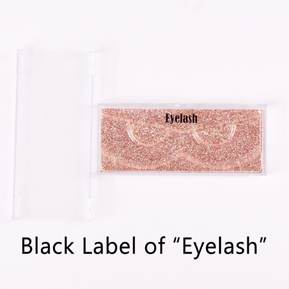 Customized Sliding Case for Customers Professional Service for Private Label Stamped on Lashes Cases ( Customize Eyelash Case)