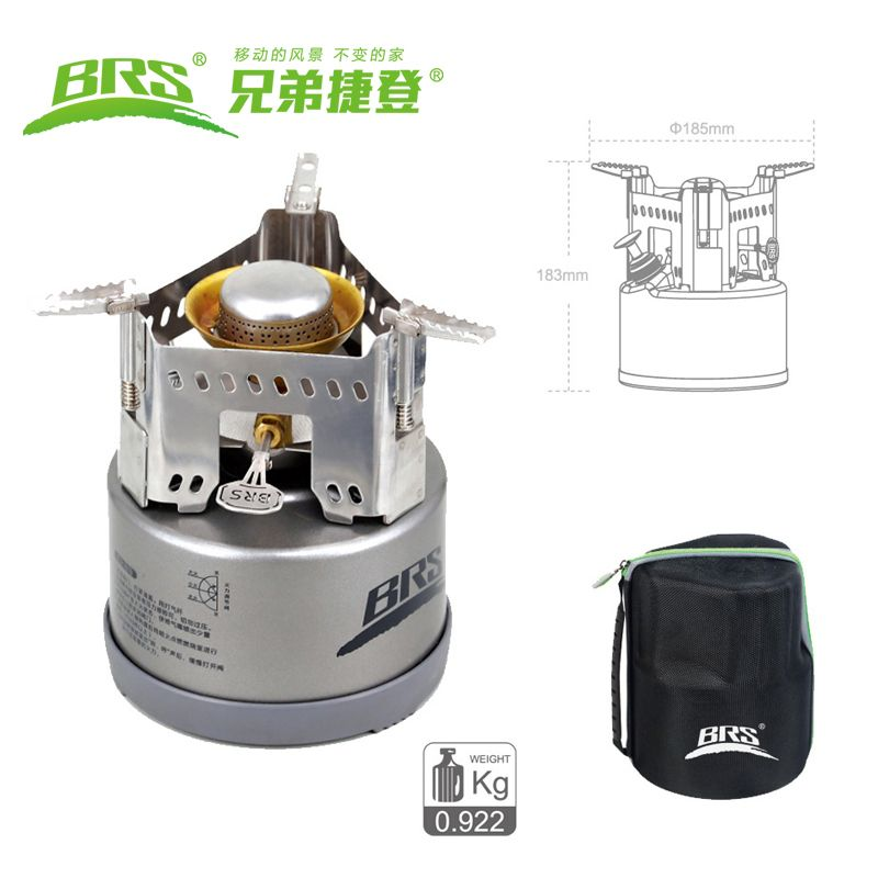 Camping Stove Potable outdoor Survival Oil Burning Stoves Lightweight Backpacking Stove for Picnic BBQ Hiking Climbing Fishing