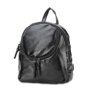9263P Turb Hua Simple Style Backpack Women PU Leather Backpacks