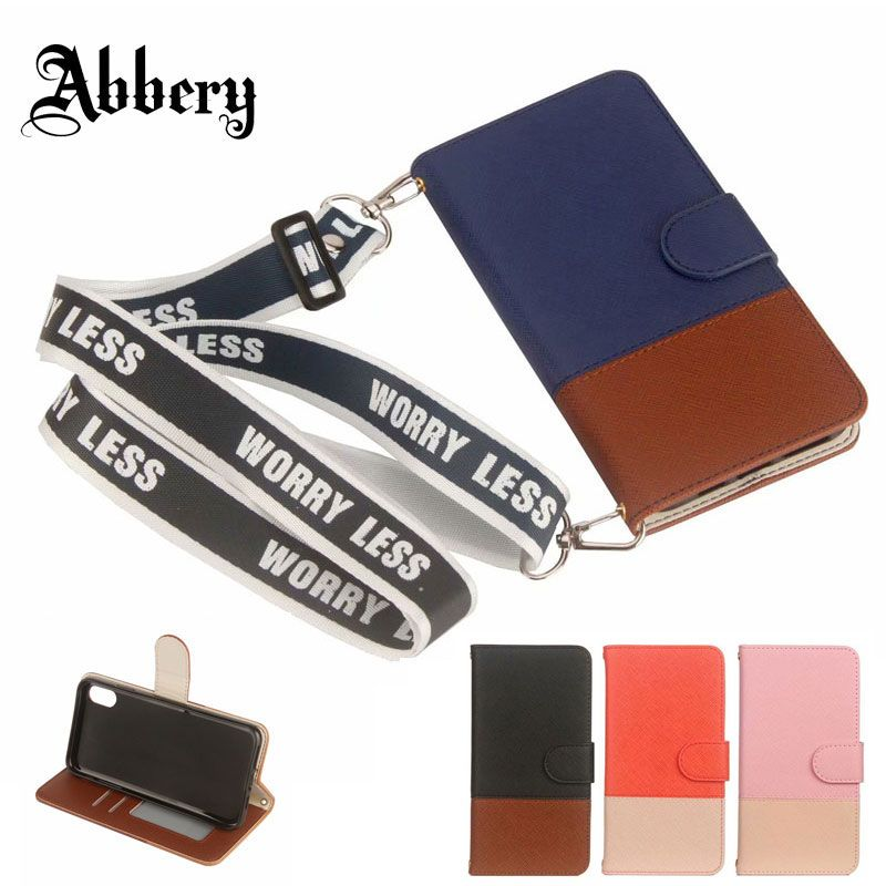 Luxury Leather Case for iPhone 6 6s 7 8 Plus X XR XS Max Back Cover for Samsung Galaxy S8 S9 Plus Note8 Note9 Card Holder Coque