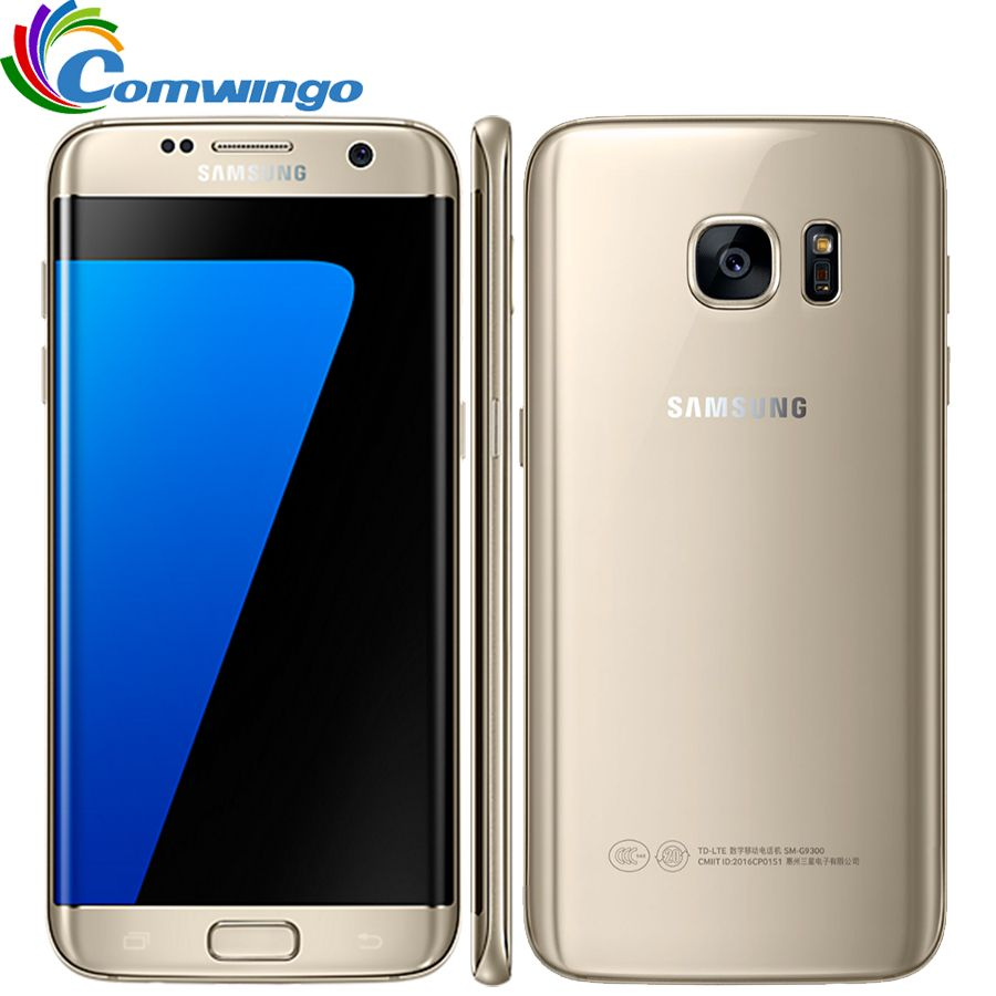 Samsung Galaxy S7 Edge G935F & G935V Smartphone 5.5'' 4GB RAM 32GB ROM Single SIM NFC 12MP 4G LTE Cellphone