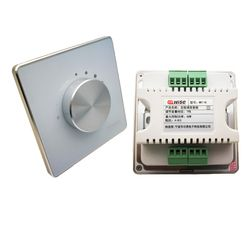 New 2pc/lot Manual Knob Volume panel Ceiling Speaker Volume Controller Impedance 86mm wall mount 7 Level Volume Controller