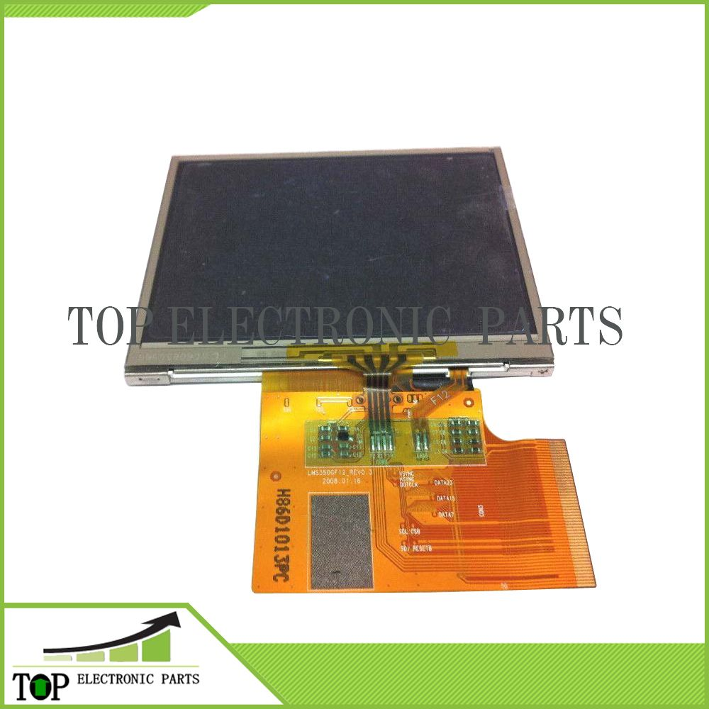 Original 3.5'' LCD LMS350GF20-002,LMS350GF20 display with touch screen digitizer for tomtom gps