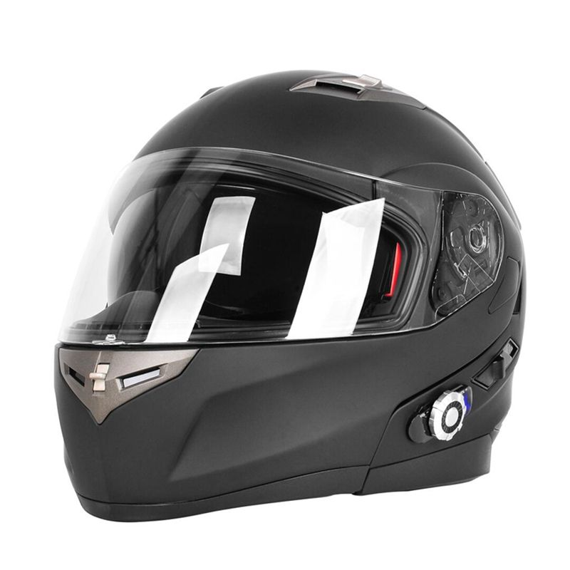 6 Colors Built-in Bluetooth Helmet Motorcycle BT Intercom Capacete Full Face Helmet Cross Casco Casque Freedconn BM2-S