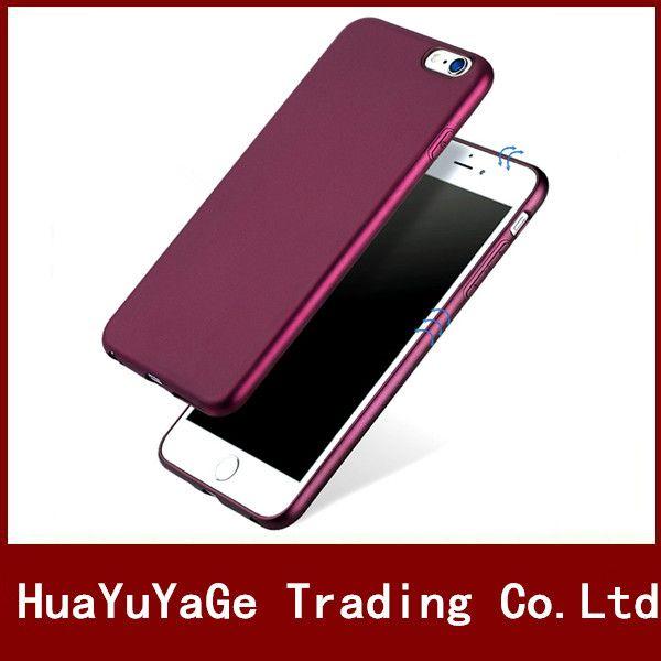 Étuis de téléphone X-level Soyeux TPU Ultra mince Mat étui arrière Anti-goutte housse antichoc pour iPhone 6 6 s Plus 5 5S iPhone X 7 8 Plus