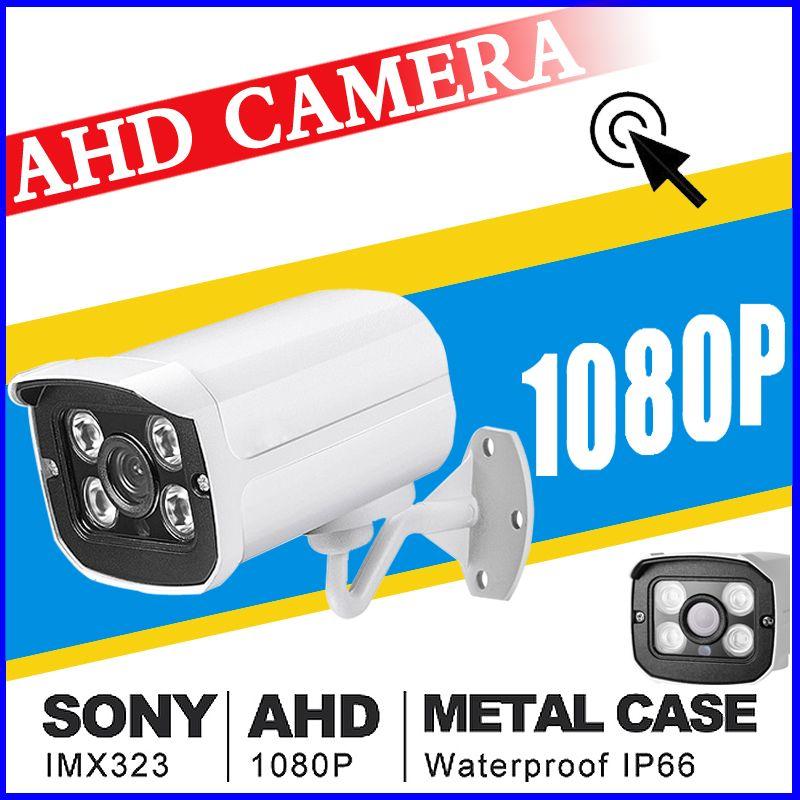 July Big Sale 720P/960P/1080P SONY IMX323 Full AHD CCTV Camera 2.0mp Digital Outdoor Waterproof Infrared Metal Bullet Vidicon