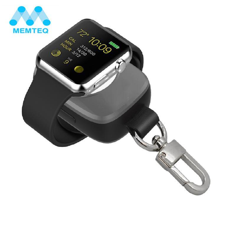 MEMTEQ Portable Sans Fil Chargeur Pour Apple Montre Magnétique De Charge Puissance Banque chargeur pour Apple Montre 38mm Pour Voyage