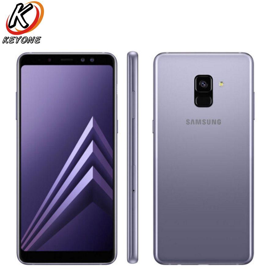 Neue Samsung Galaxy A8 Plus D/S A730FD Handy 6,0 6 gb RAM 64 gb ROM Octa core 3500 mah Dual Vorne Kamera Smart Telefon