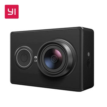 YI Action Camera 1080P 16.0MP 155 Degree Ultra-wide Angle Lens Built-in WiFi 3D Noise Reduction Mini Sports  Camera