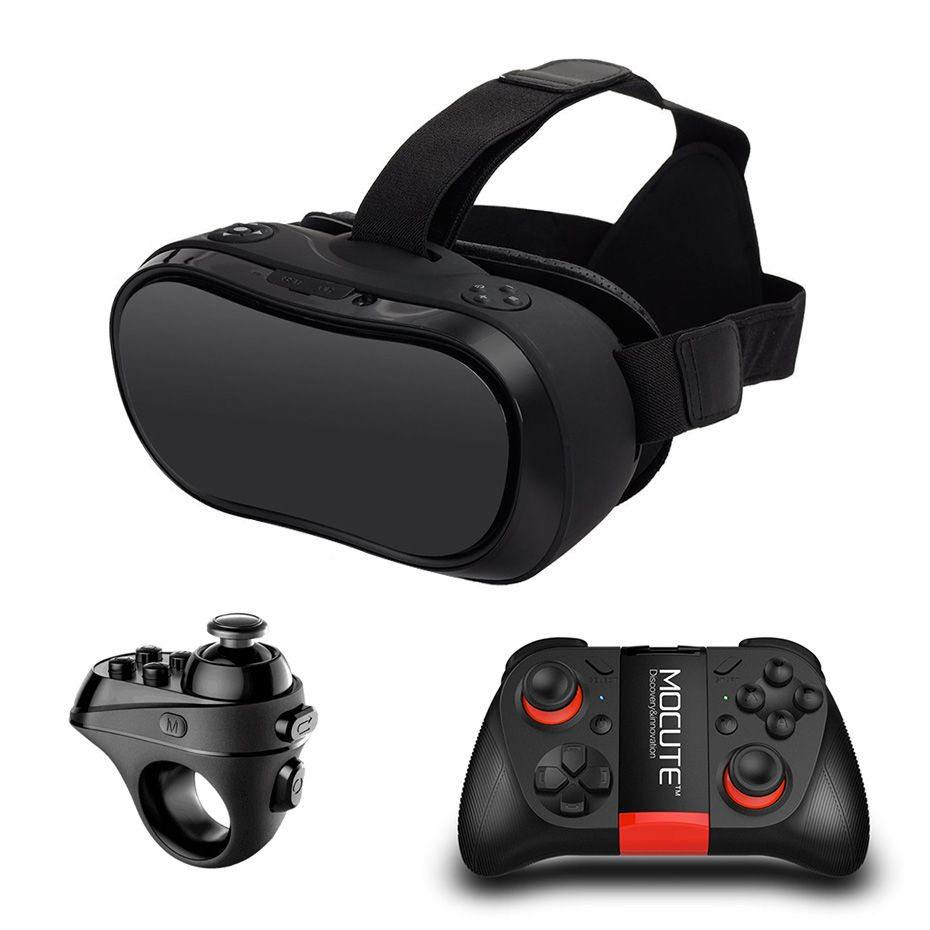 VR Box 3D Glasses virtual reality for PC PS4 Xbox one Host 2560*1440 Virtual Reality Goggles All In One VR Bluetooth Controllers