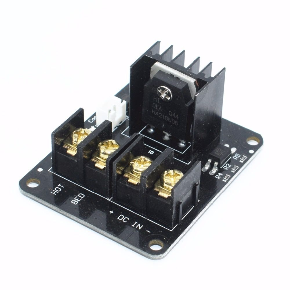 Neue 3D drucker Heißer Bett MOSFET Power Expansion Board/Wärme bett Power Modul Für Anet A8 A6 A2 Compate schwarz Rampen 1,4