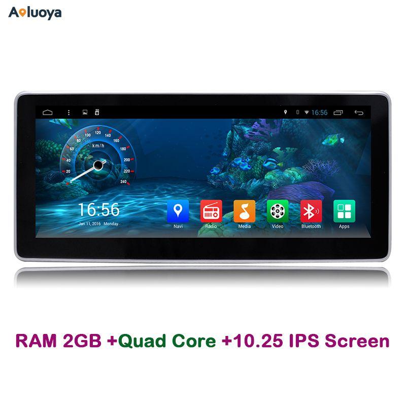 Aoluoya 10.25 IPS 2GB RAM Android 6.0 Car DVD Player Radio GPS Navigation FOR Mercedes Benz C200 W204 2005-2012 Audio WIFI DAB+