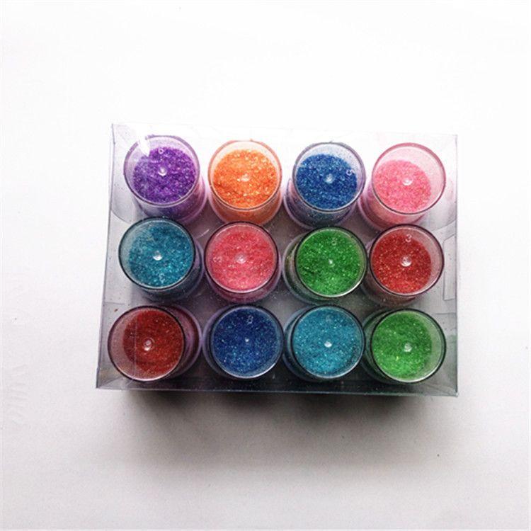 VTN853 Buena calidad de la manera NUEVA shinning Nail Glitter Powder polvo arcylic