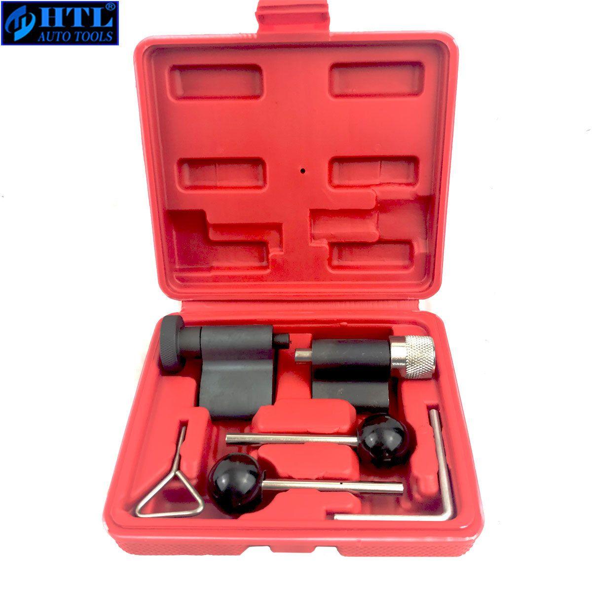 6pc ensemble d'outils de verrouillage de manivelle de distribution de moteur Diesel universel pour VW AUDI T10050 T10100