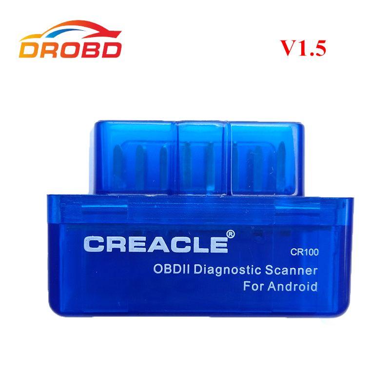 Lecteur de Code de diagnostic-Outil ELM327 V1.5 Mini ELM 327 V1.5 Soutien Protocole Complet Mini ELM327 V 1.5 Bluetooth OBD2 Scanner